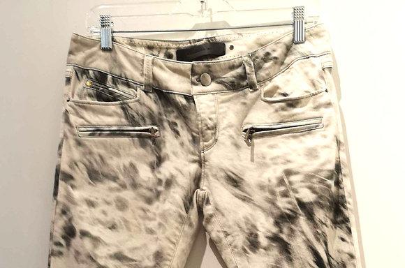 BARBARA BUI - Jeans blanc/noir, 29