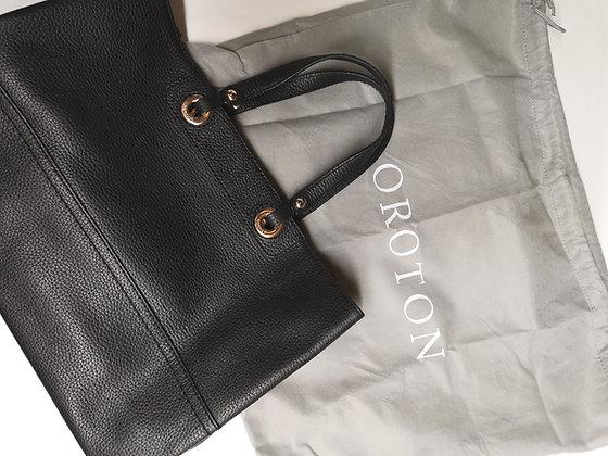 OROTON, sac à main cuir