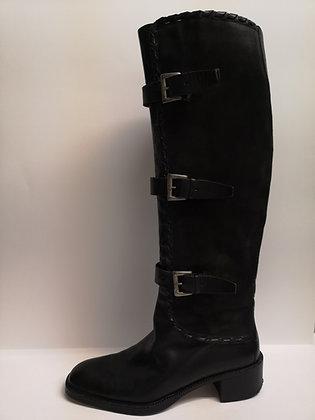 VIA SPIGA - Bottes cuir noir - 7 (37)