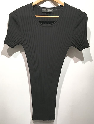 DOLCE & GABBANA - T-Shirt en tricot - M