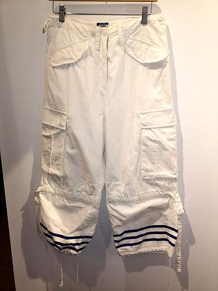 JEAN-PAUL GAUTHIER - Pantalon jeans navy blanc - 38