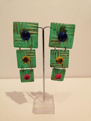 Boucles d'oreilles à clips vintage