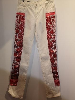 JEAN-PAUL GAULTHIER - Pantalon Jeans blanc - 30