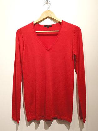 CA VA DE SOI -Pull fil de laine - S
