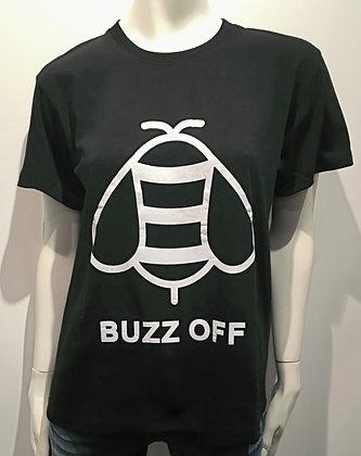 T-Shirt Buzz Off Noir/Blanc
