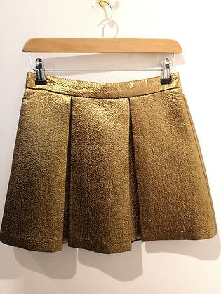 AXARA - Mini jupe couleur bronze - 36