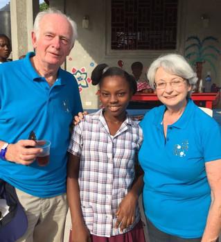 Voyage en Haïti avec quelques parrains et marraines du 23 au 30 janvier 2018.