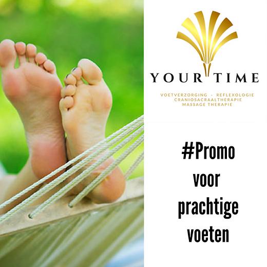 Korting op pedicure bij Your Time Leuven