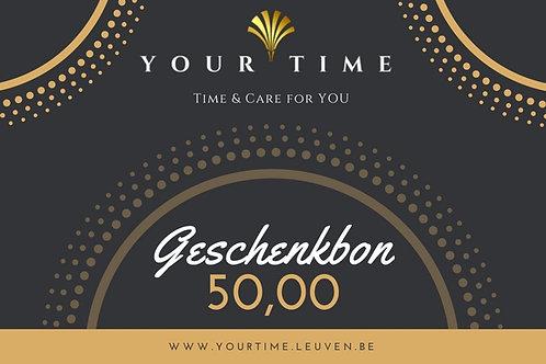 Geschenkbon € 50,00