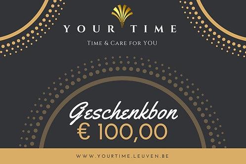 Geschenkbon €100,00
