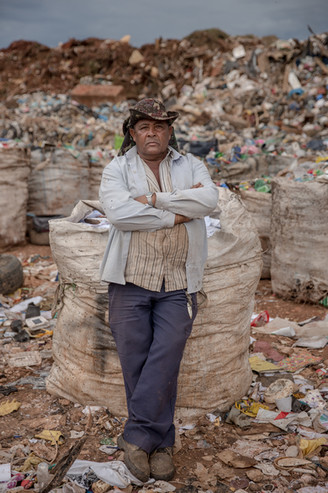 João Timoti da Silva, 52, started to work on the Estrutural dump three months ago, but worked at other dumps for more than 18 years.