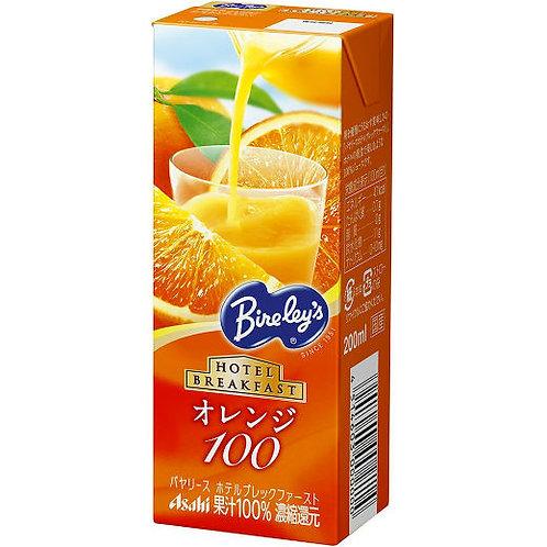 100%オレンジジュース 200ml