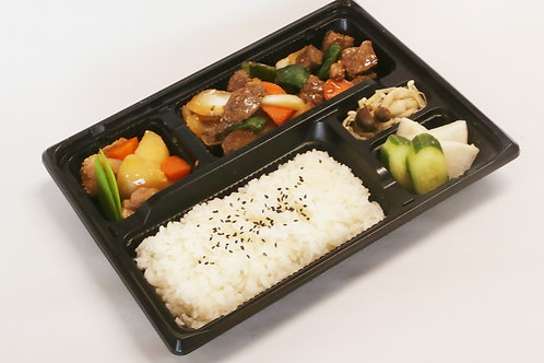 牛肉と野菜の醤油糀炒め糀弁当