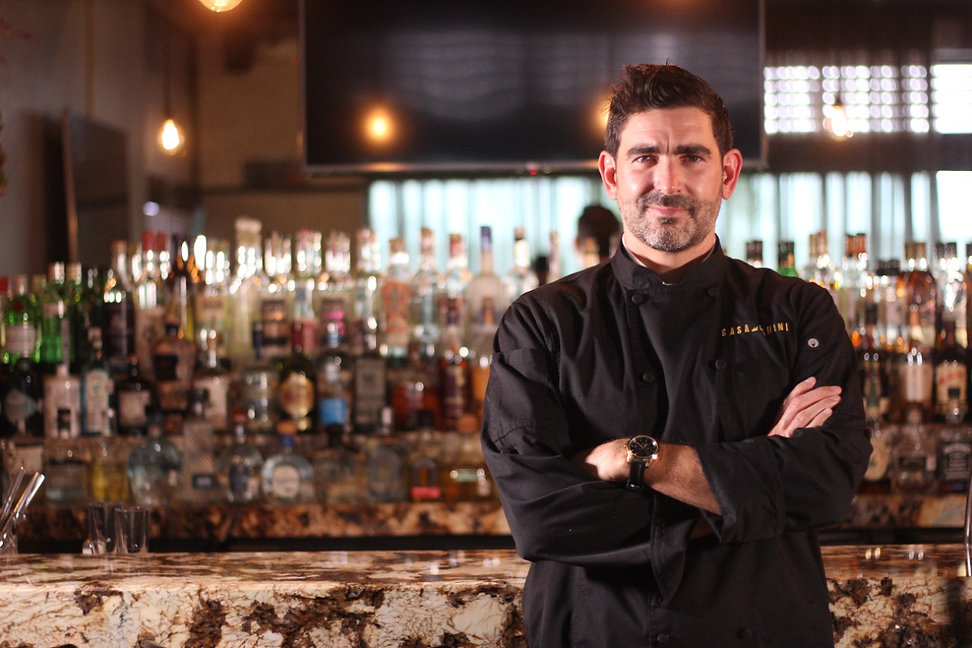 Chef Carlos Fink - Casa del Panini - Torreón, Coahuila - Restaurante