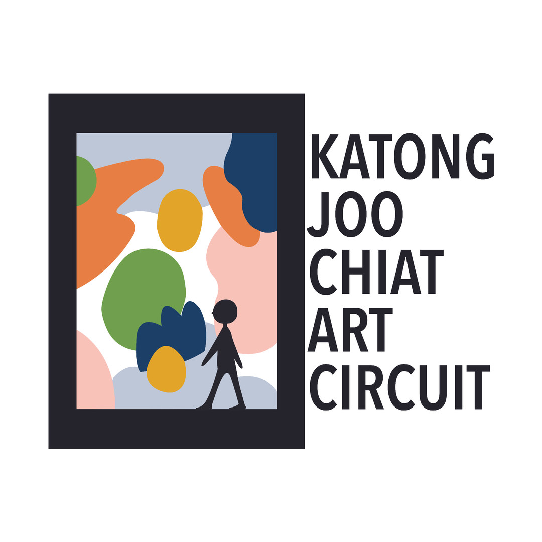 Logo for Katong Joo Chiat Art Circuit, a trail that aims to revitalize Katong Joo Chiat by showcasing its many food and retail highlights, and murals painted specially for the trail.