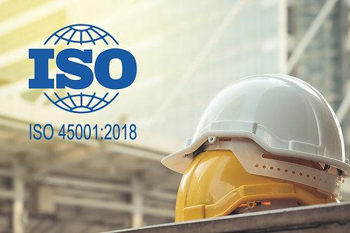Curso ISO 45001/2018 - Segurança e Saúde do Trabalho