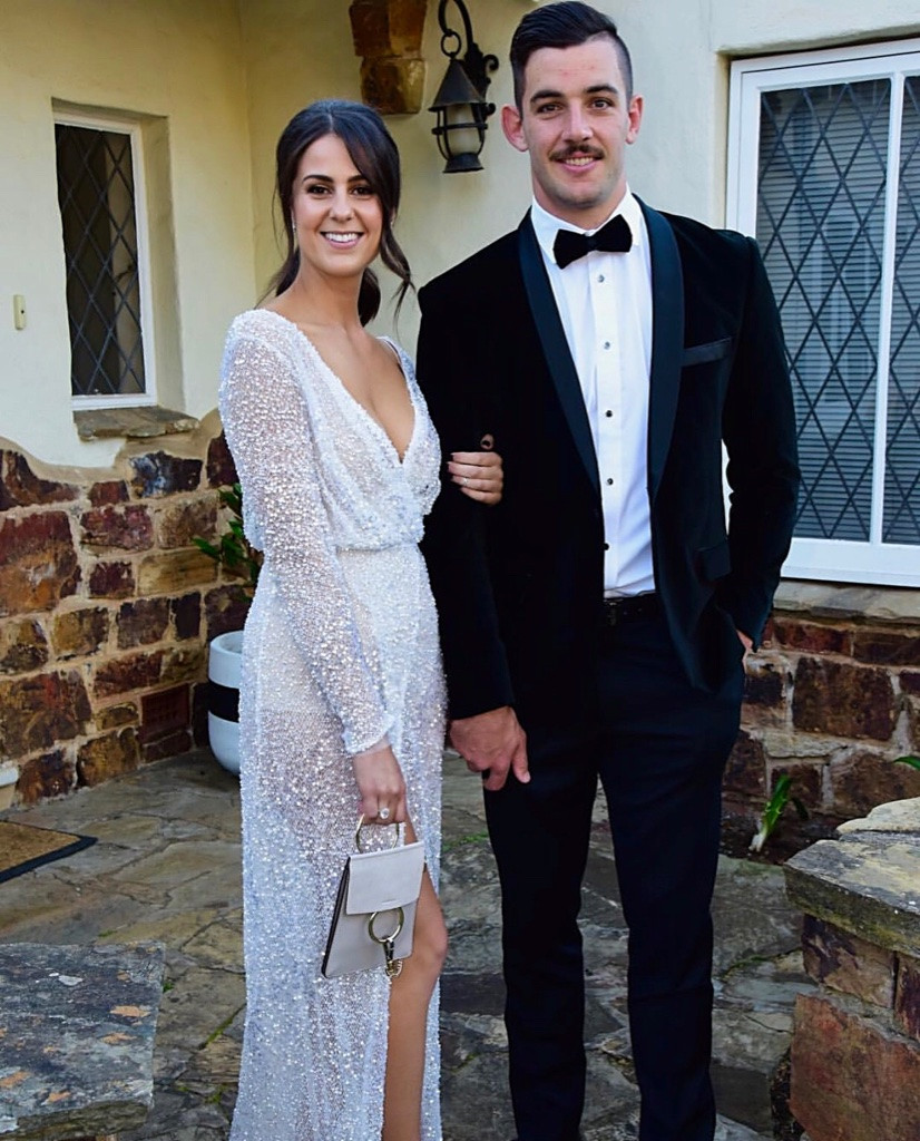 Ellie Brown in the Gemini Gown Brownlow's 2017