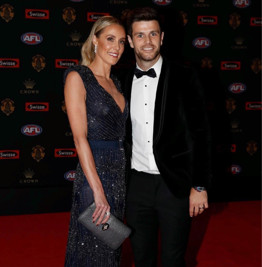 Brooke Cotchin in custom CR Brownlow's 2017