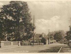 Heritage Walk in Mayford with Local Historian Iain Wakeford!