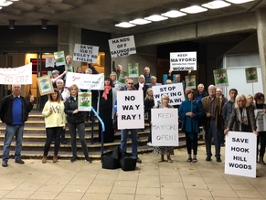 Mayford Unites to Protect its Green Belt!