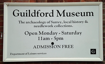 Guildford Museum sign.png