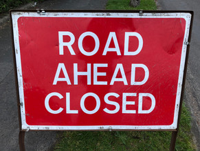 Resurfacing work next month on Honeypots Road entrance and Maybourne Rise pavement!