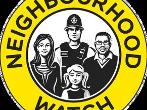 Advice from Neighbourhood Watch