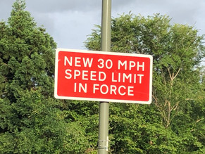 30 MPH Speed Limit Now In Force On Egley Road