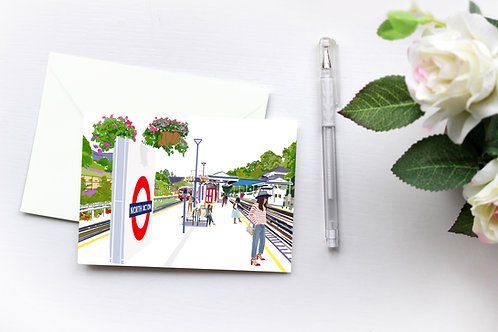 London Art, Greeting Cards, Box Set, Just Because, Thinking of You, Birthday Cards, Acton Cards, Blank Cards, London Cards