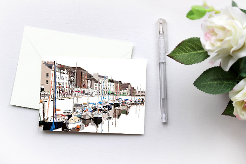 North Quay Art, Greeting Card, Box Set, Just Because, Thinking of You, Birthday Card, Douglas, Blank Cards, Isle of Man Cards