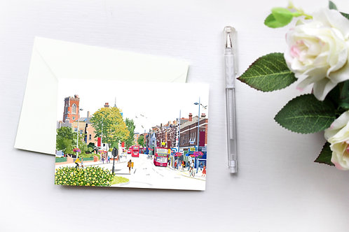 London Art, Box Set, Greeting Cards, Handmade Cards, Acton Cards, Thinking of You, Just Because, Blank Cards, Birthday Cards