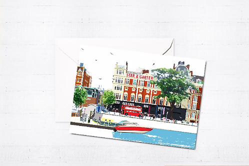 London Art, Greeting Cards, Box Set, Just Because, Thinking of You, Birthday Cards, Putney, Blank Cards, Putney Cards