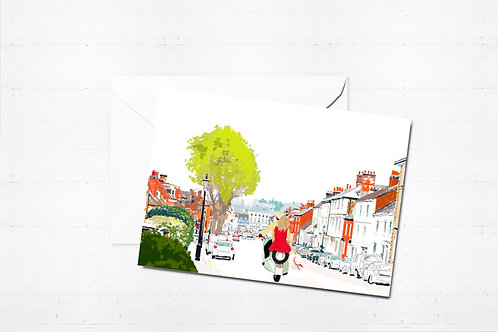 Farnham Art, Greeting Card, Box Set, Just Because, Thinking of You, Birthday Card, Blank Cards, Farnham Cards