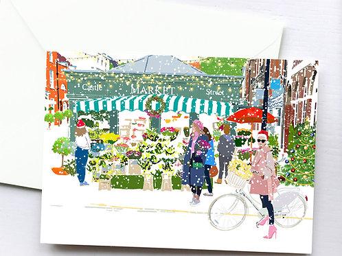 Christmas Art Prints, Handmade, Wall Art, Farnham Art, Holiday Print, Thinking of You, Personalized Gift, Christmas Gift
