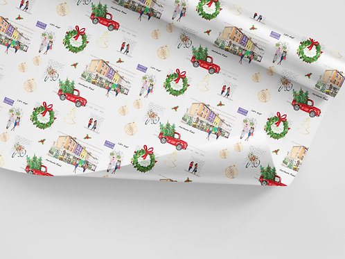 Christmas Wrapping Paper, Holiday Gift Wrap, Holiday Wrap, Thinking of You, Just Because, Gift Wrap