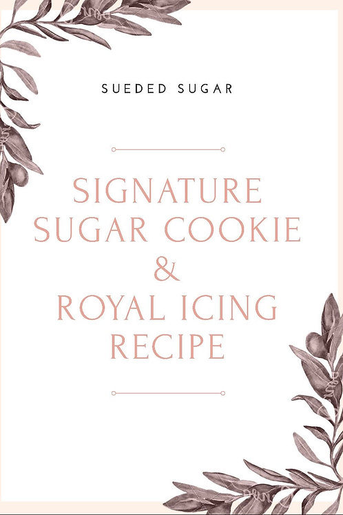 Signature Sugar Cookie & Icing Bundle
