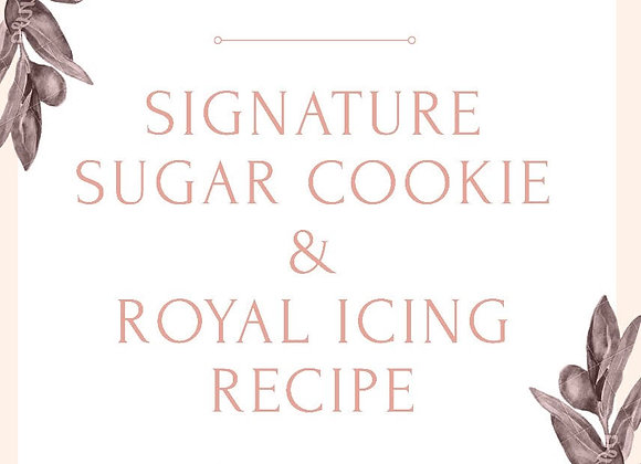 Signature Sugar Cookie & Icing Bundle