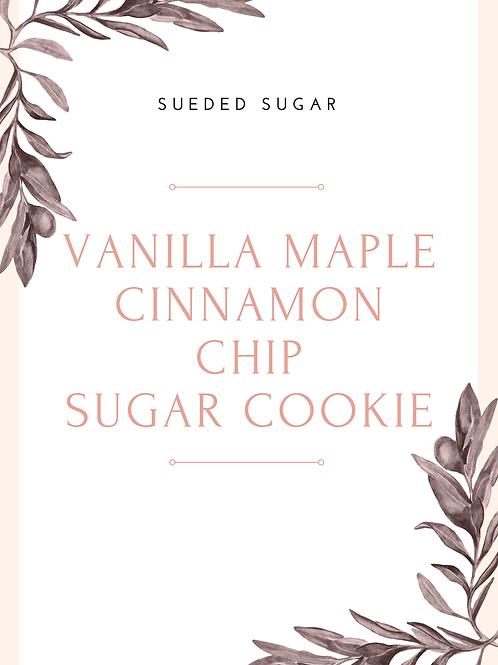 Vanilla Maple Cinnamon Chip Cookie recipe