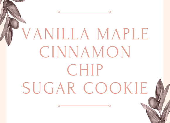 Vanilla Maple Cinnamon Chip Cookie recipe