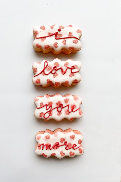 """I love you more""  mini pack"