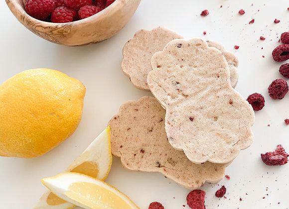 Lemon Raspberry Sugar Cookie & Icing Recipe