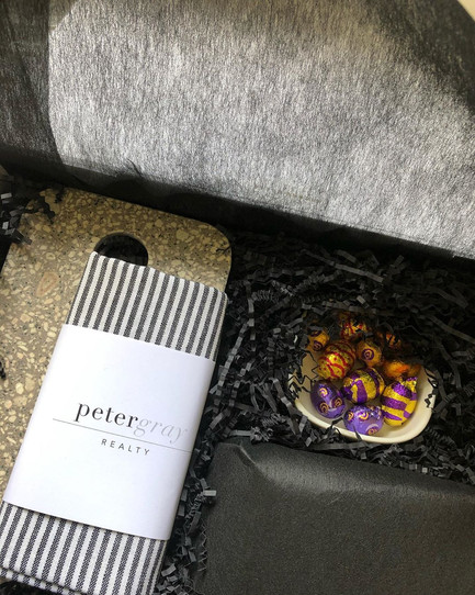 Peter Gray Realty Client Gifts