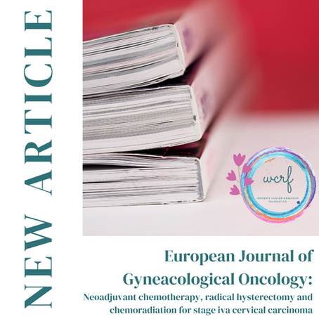 New Article Published in the European Journal of Gynaecological Oncology