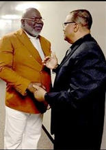 Bishop T.D. Jakes and Jerry Cummings