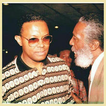 Dick Gregory and Jerry Cummings