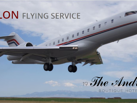 Private Pilots Choose The Andrus Hotel as Their Choice Hotel