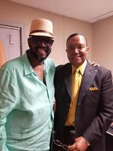 Otis Williams and Jerry Cummings