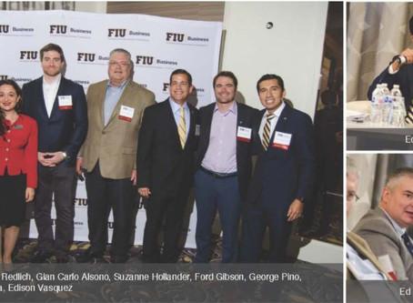 ComReal's Ed Redlich and Edison Vasquez Participate on FIU Real Estate Panel