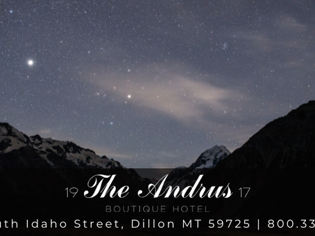 Rooftop Stargazing at The Andrus Hotel