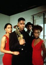 Cynda Williams & Denzel Washington